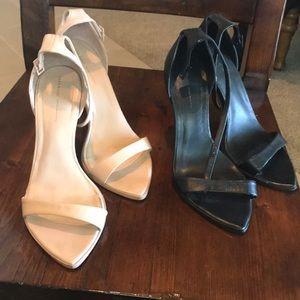 2 Zara preowned blogger fav minimalist heels 7.5/8